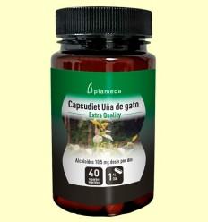 Capsudiet Uña de Gato - Plameca - 40 cápsulas