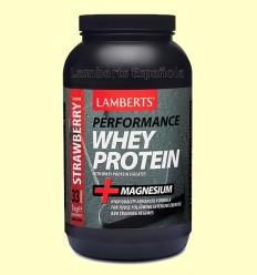 Whey Protein Sabor a Fresa - Lamberts - 1000 gramos