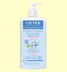 Agua Limpiadora Micelar Bebé Bio - Cattier - 500 ml