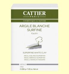 Arcilla Blanca Superfina - Cattier - 200 gramos