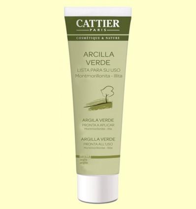 Arcilla Verde - Lista para usar - Cattier - 100 gramos