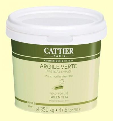 Arcilla Verde - Lista para usar - Cattier - 1350 gramos