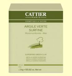 Arcilla Verde Superfina - Cattier - 3 kg