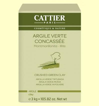 Arcilla Verde Triturada - Cattier - 3 kg