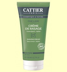 Crema de Afeitar Bio - Cattier - 150 ml