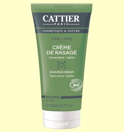 Crema de Afeitar Bio - Cattier - 150 ml