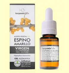 Aceite Vegetal de Espino Amarillo Virgen Bio - Terpenic Labs - 10 ml