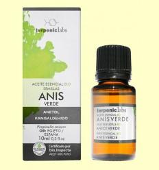 Anís Verde - Aceite Esencial Bio - Terpenic Labs - 10 ml