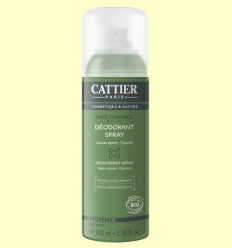 Desodorante Spray Hombre Bio - Cattier - 100 ml