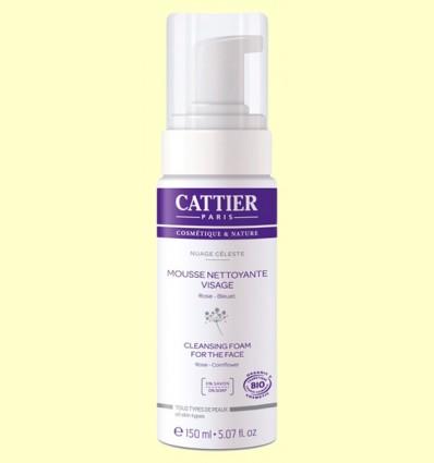 Espuma Limpiadora Facial Bio - Cattier - 150 ml