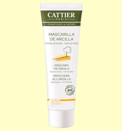 Mascarilla Arcilla Amarilla Bio - Pieles Secas - Cattier - 100 ml