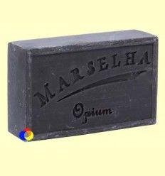 Pastilla Jabón Natural Opio Negro - Marselha - 125 gramos