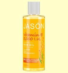 Aceite Corporal de Vitamina E 5000 UI - Jason - 118 ml
