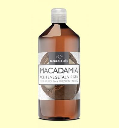 Aceite de Macadamia Virgen Bio - Terpenic Labs - 1 litro