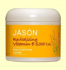 Crema Revitalizante Vitamina E 5000 UI - Jason - 113 gramos