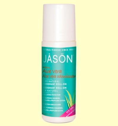 Desodorante Aloe Vera Roll-On - Jason - 89 ml