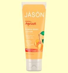Loción de Manos y Cuerpo Albaricoque - Jason - 227 ml