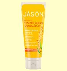 Loción de Manos y Cuerpo Germen de Trigo - Jason - 227 gramos