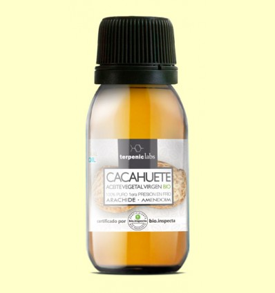 Aceite Vegetal de Cacahuete Virgen - Terpenic Labs - 60 ml