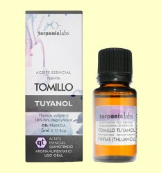 Tomillo Tuyanol - Aceite Esencial - Terpenic Labs - 5 ml