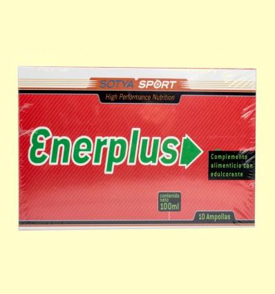 Enerplus con Ginseng y Guaraná - Sotya - 10 ampollas