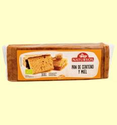 Pan de Centeno y Miel Bio - Natursoy - 300 gramos