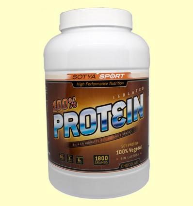 Proteína 100% Chocolate - Sotya - 1800 gramos