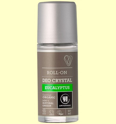 Desodorante Roll On de Eucaliptus Bio - Urtekram - 50 ml