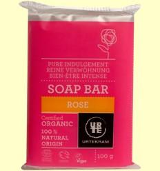Jabón de Rosas Bio - Urtekram - 100 gramos
