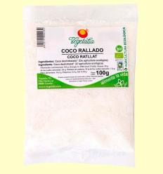 Coco Rallado Bio - Vegetalia - 100 gramos