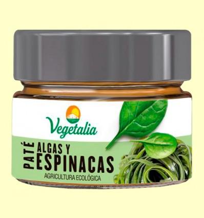 Paté de Algas y Espinacas Bio - Vegetalia - 110 gramos