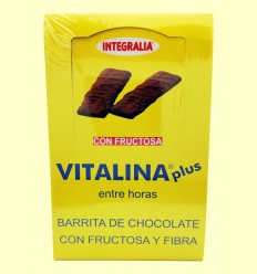 Barritas de Chocolate Vitalina Plus - Integralia - 24 barritas