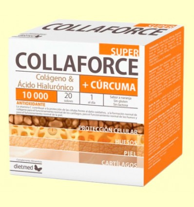 Collaforce Super + Cúrcuma - DietMed - 20 sobres