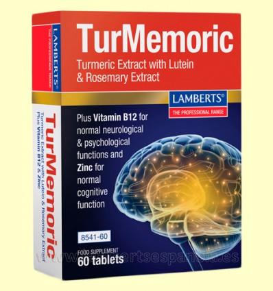 TurMemoric - Memoria - Lamberts - 60 tabletas