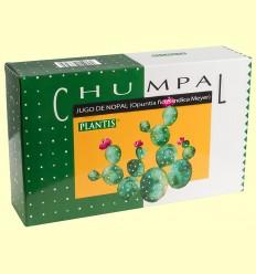 Chumpal - Jugo de Nopal - Plantis - 20 ampollas