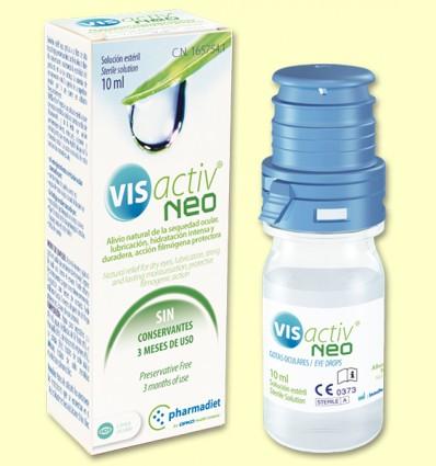 VIS activ Neo - Gotas oculares - Pharmadiet - 10 ml