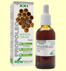 Extracto Natural de Propóleo - Fórmula XXI - Soria Natural - 50 ml