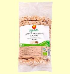 Tortitas de Arroz Integral y Algas Bio - Vegetalia - 110 gramos