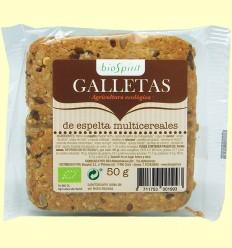 Galleta de Espelta Multicereales Bio - BioSpirit - 50 gramos