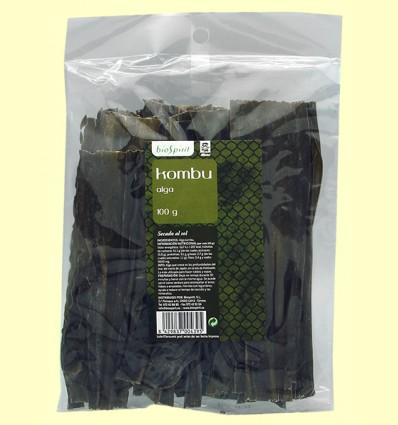 Alga Kombu - BioSpirit - 100 gramos