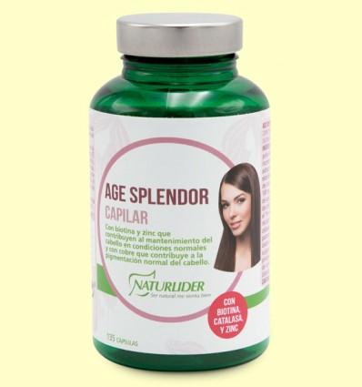 Age Splendor Capilar - Naturlider - 135 cápsulas