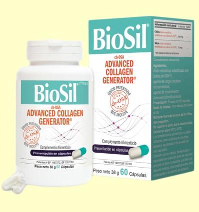 BioSil - Para Piel, Cabello, Uñas, Articulaciones y Huesos - 60 cápsulas *