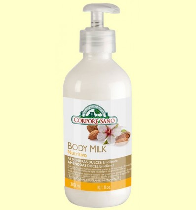 Body Milk Almendras - Corpore Sano - 300 ml