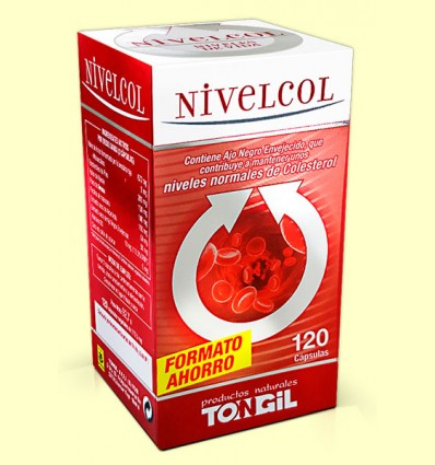 Nivelcol - Colesterol - Tongil - 120 cápsulas