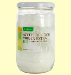 Aceite de Coco Bio Virgen Extra - BioSpirit - 550 gramos