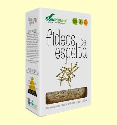 Fideos de Espelta Eco - Soria Natural - 250 gramos