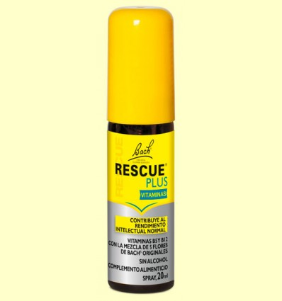 Rescue Plus Spray - Bach - 20 ml *
