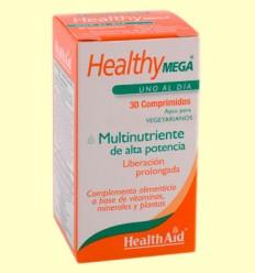 Healthy Mega - Multinutriente - Health Aid - 30 comprimidos