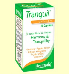 Tranquil - Health Aid - 30 cápsulas
