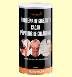 Colágeno con Proteína de Guisante y Cacao - Salengei - 500 gramos